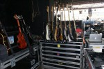 Green Day, Backstage, Billie Joe Guitars
