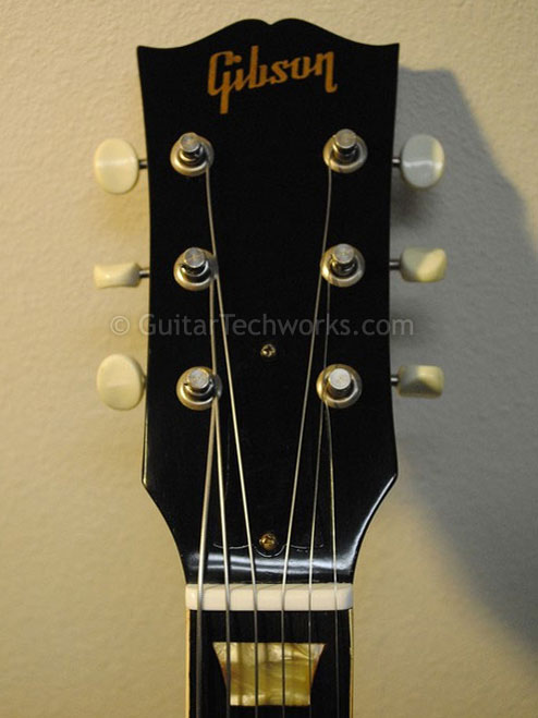 Refinished borken headstock now repaired